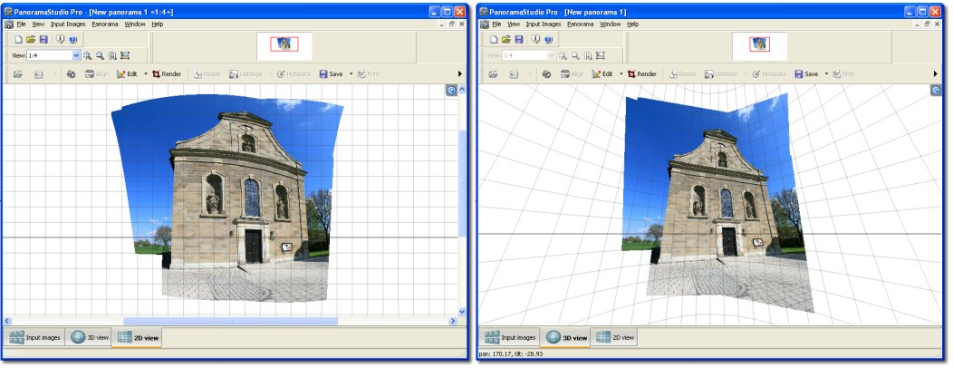 PanoramaStudio Pro screenshot